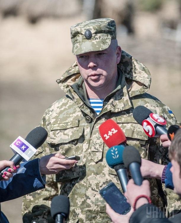 Михайло Забродський командувач ВДВ