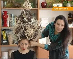 Прическа выиграла на конкурсе