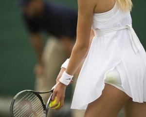 Под юбкой у теннисисток