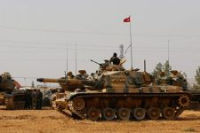 Танк Турции в Сирии