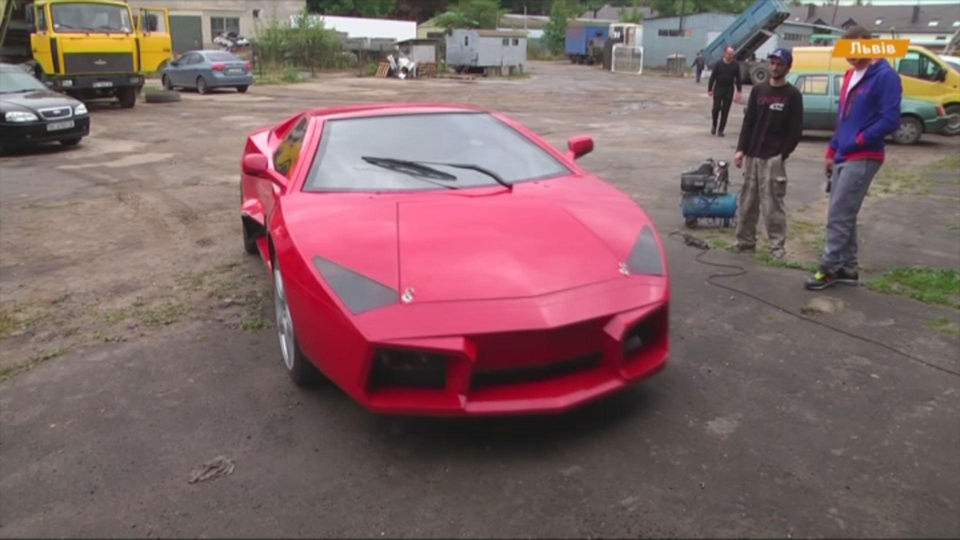 Львів'янин у власному гаражі з нуля зібрав копію лімітованої версії Lamborghini (фото) фото