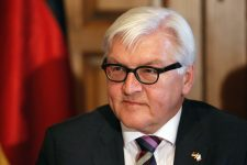 """Germany's Foreign Minister Frank-Walter Steinmeier attends a meeting with BMW executives in Mexico City July 17, 2014. Steinmeier on Thursday called for an independent, international investigation into the downing of Malaysian airliner flight MH-17 over eastern Ukraine. Ukraine accused """"terrorists"""" - militants fighting to unite eastern Ukraine with Russia - of shooting down the Malaysia Airlines Boeing 777 as it flew from Amsterdam to Kuala Lumpur. Leaders of the rebel Donetsk People's Republic denied any involvement. REUTERS/Bernardo Montoya (MEXICO - Tags: POLITICS DISASTER TRANSPORT CIVIL UNREST BUSINESS)"""