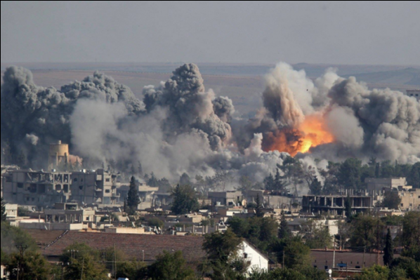 сирія бомбардування рф