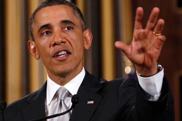 Обама иПутин внастоящее время решают судьбу государства Украины