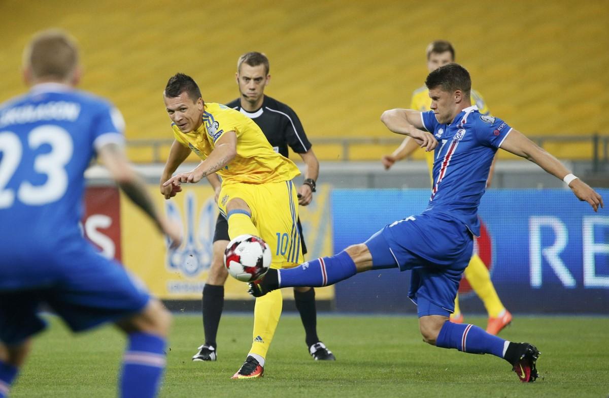 Исландские «викинги» прилетели вукраинскую столицу нафутбольный матч против государства Украины