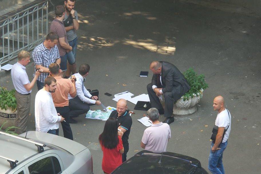 ВКиеве около Администрации президента задержали взяточника