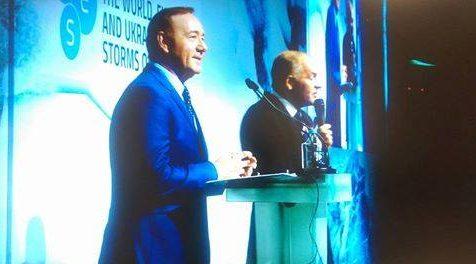 Известный американский актер посетил конференцию YES вКиеве