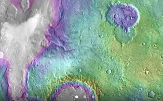 Некоторые марсианские озера существовали позднее на сотни миллионов лет