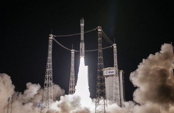 Ракета Vega сукраинским мотором вывела наорбиту спутники Google