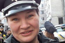 Ольга Макаренко вбита поліцейська2