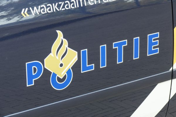 47386679 - netherlands - the hague - september media 2015: police car with police logo in the hague.