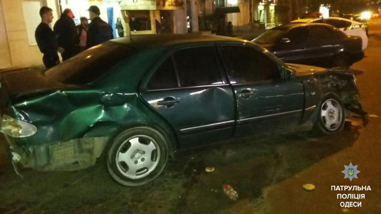 Стрельба в Одессе после ДТП, есть раненые