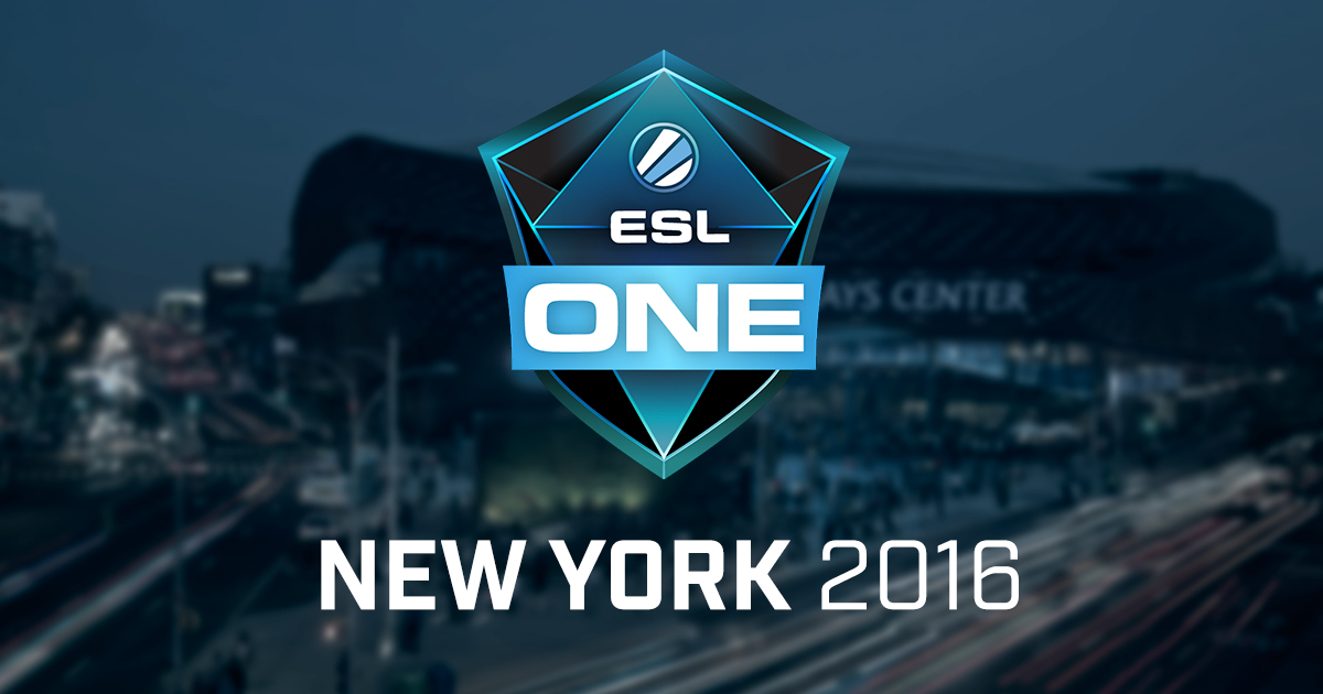 Украинская Na`Vi одолела на ESL One New York