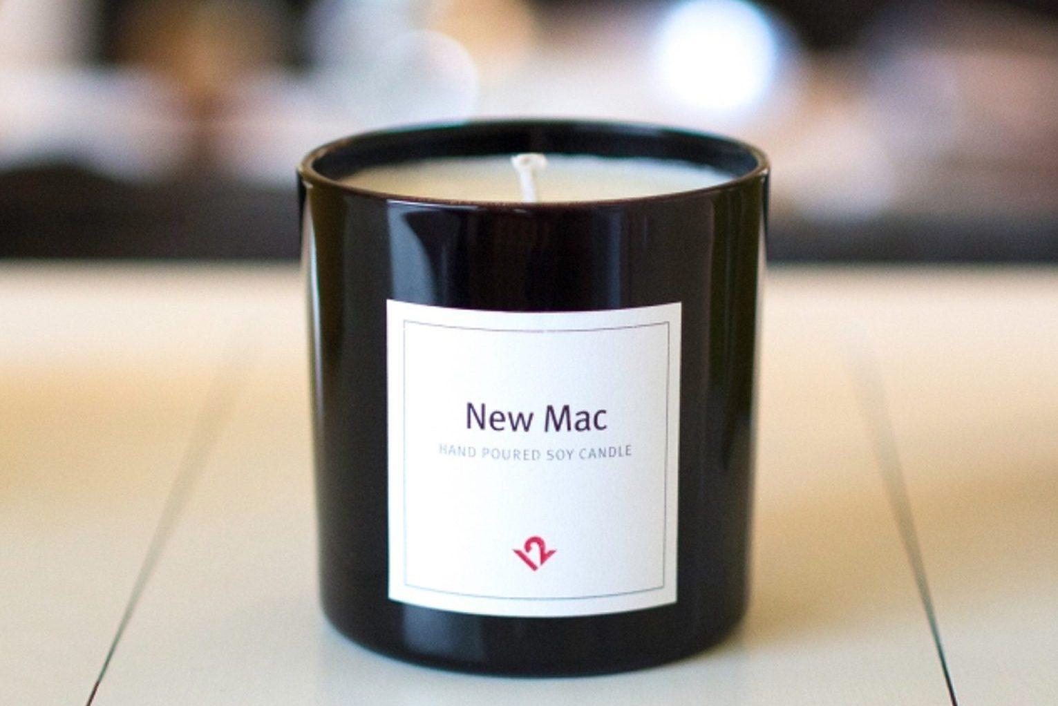 свечи с запахом техники Apple