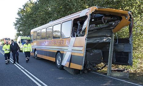 У Данії автобус із підлітками-біженцями потрапив у ДТП