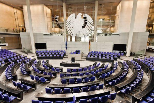 16558103 - parliament german bundestag room reichstag in berlin germany