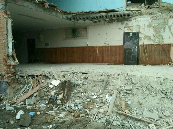 Обвалення школи у Василькові