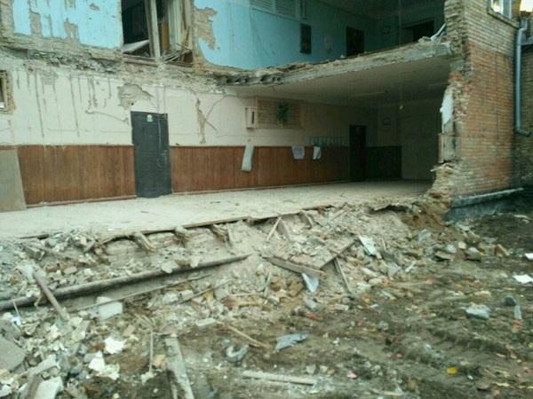 Васильків обвалення школи