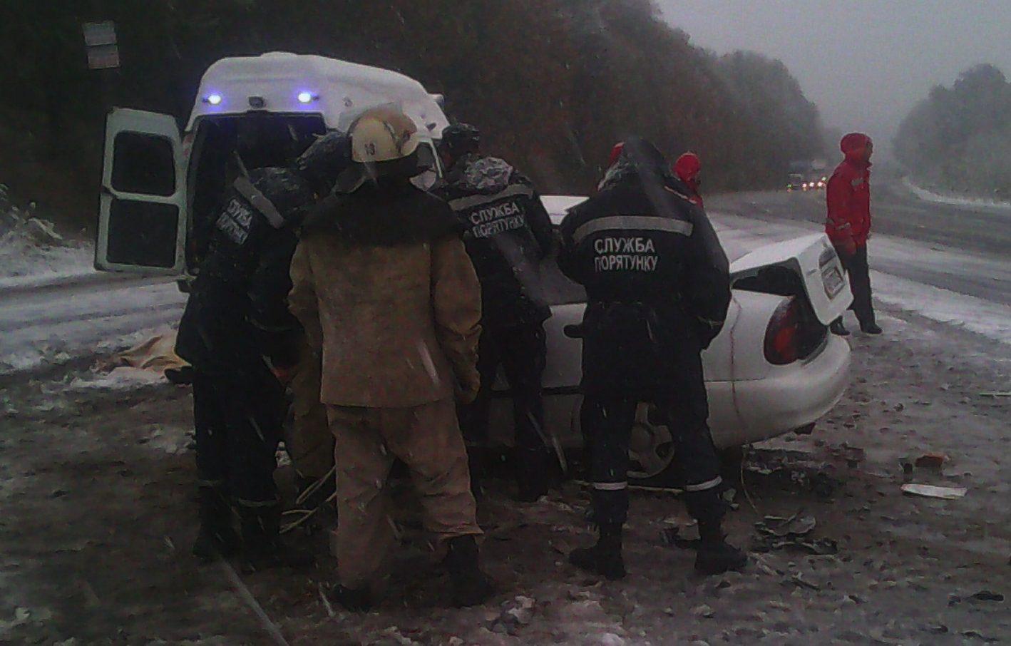 Аварія на Вінничині