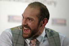Boxing - Wladimir Klitschko & Tyson Fury Head-to-Head Press Conference - Hilton Syon Park, Brentford, Middlesex - 23/9/15 Tyson Fury during the press conference Action Images via Reuters / Andrew Couldridge Livepic