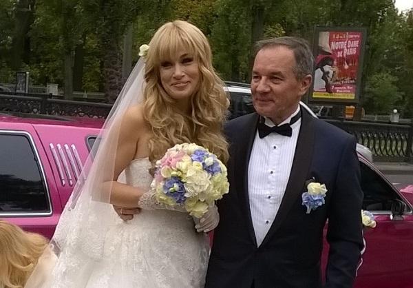 Мішель Терешенко весілля