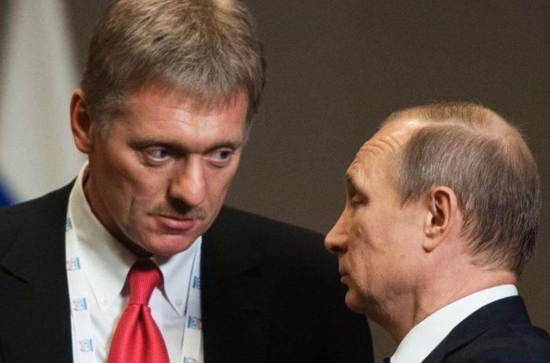 Дмитро пєсков і Володимир Путін