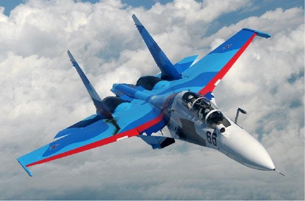 Су-30 винищувач РФ