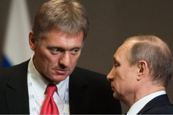 Пеэсков і Путін