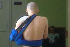поранений боєць АТО