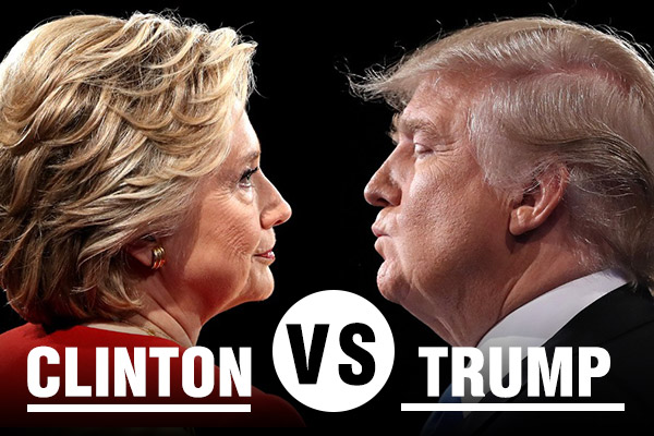 Дебаты Трампа и Клинтон онлайн