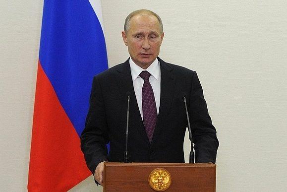 Володимир Путін заява