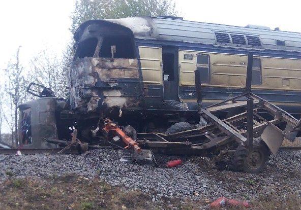 аварія потяга Вінницька область