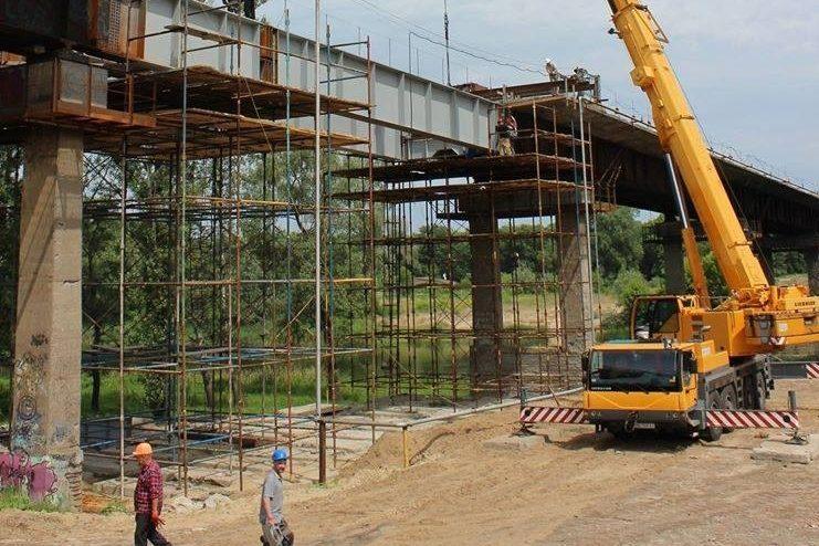 Міст Лисичанськ Сєвєродонецьк