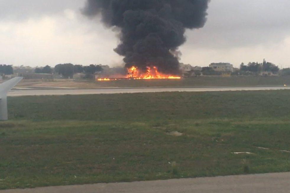 На Мальті розбився літак з чиновниками ЄС