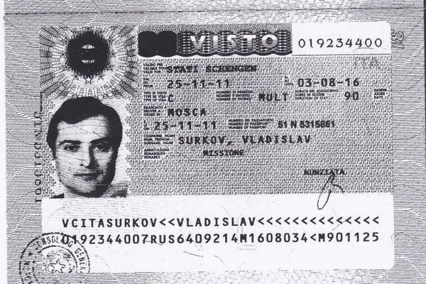паспорт суркова