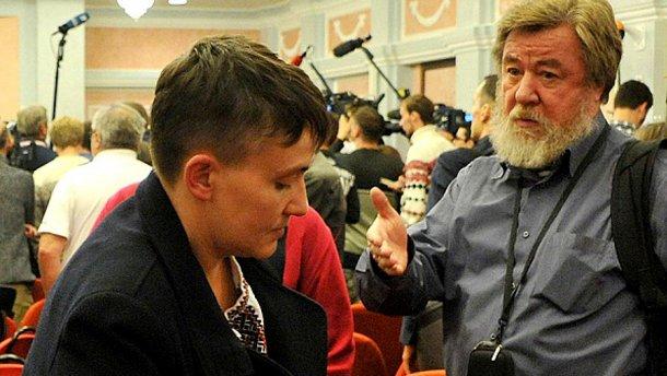 Савченко парі з журналістом