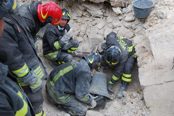 Італія землетрус