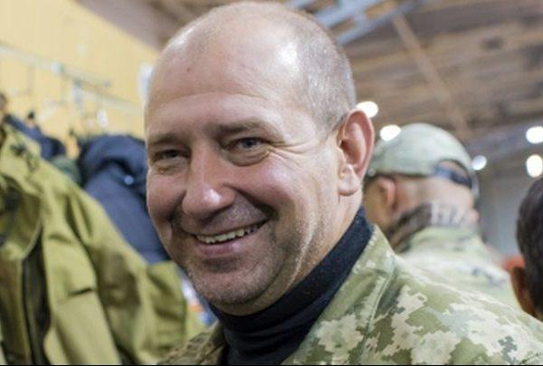 Aidar battalion commander Serhii Melnychuk.