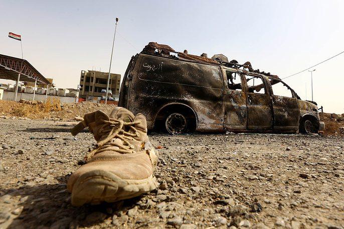 Битва за Мосул: іракські військові захопили першу важливу будівлю