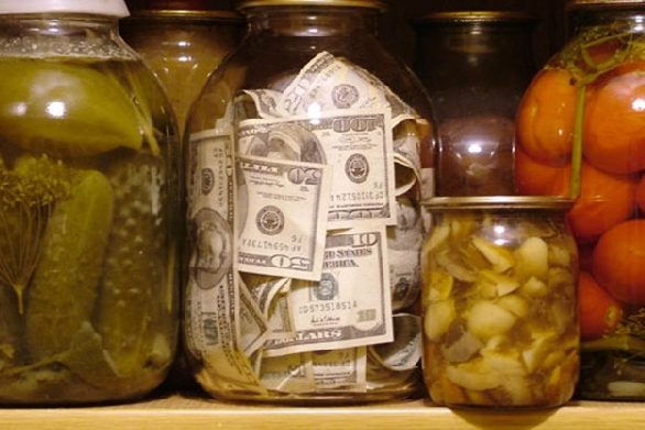 гроші у банці долари зберігання