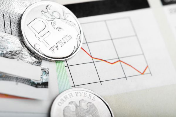 34567989 - ruble exchange rate on international stock exchanges.