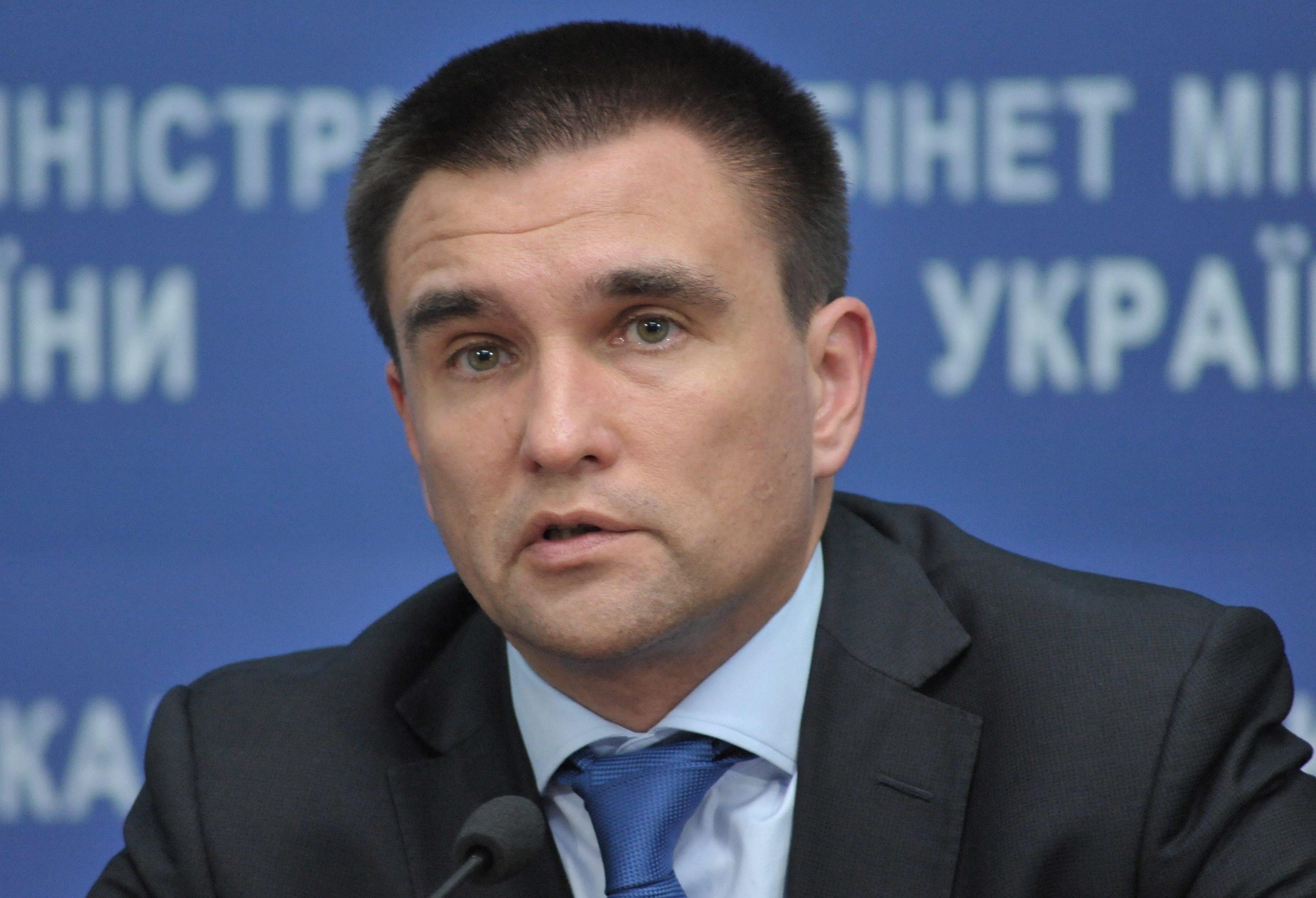 «Нам не нужны дипломатические отношения с Россией», – министр иностранных дел Украины