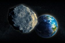 14605858 - large asteroid closing in on earth