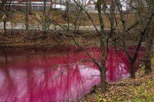 Червоне озеро в Сумах