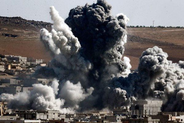 Бомбардування школи у Сирії