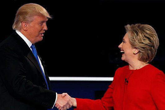 Вибори президента США 2016: перші екзит-поли