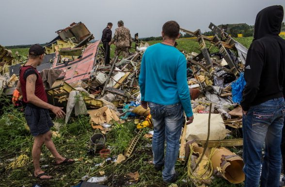 Boying-777 рейс MH17