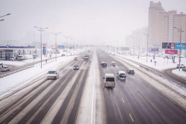 Київ зима траса
