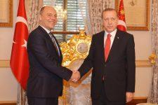 Парубій зустрівся з Ердоганом