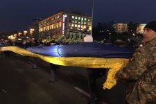 Годовщина Евромайдана онлайн: на Крещатике более 500 человек, произошли столкновения